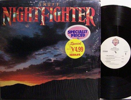 Snuff - Night Fighter - Vinyl LP Record - Rock