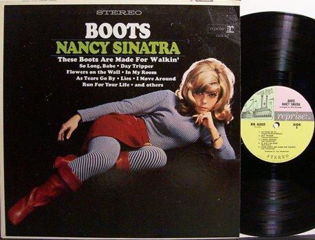 Sinatra, Nancy - Boots - Vinyl LP Record - Pop Rock