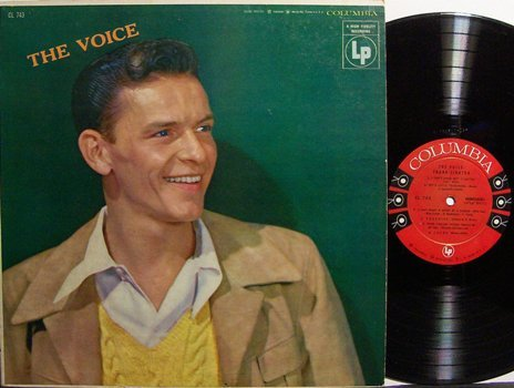 Sinatra, Frank - The Voice - Vinyl LP Record - 6 Eye Label - Pop