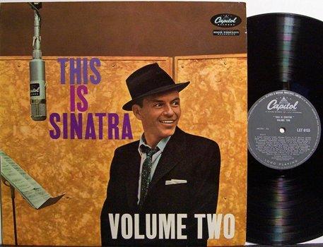Sinatra, Frank - Volume Two - UK Pressing - Vinyl LP Record - Pop