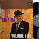 Sinatra, Frank - Volume Two - UK Pressing - Vinyl LP Record - Pop