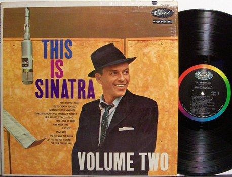 Sinatra, Frank - Volume Two - Vinyl LP Record - Pop