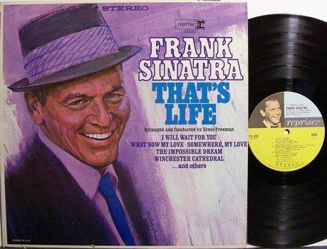 Sinatra, Frank - That's Life - Stereo - Vinyl LP Record - Pop