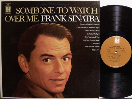 Sinatra, Frank - Someone To Watch Over Me - Vinyl LP Record - Pop