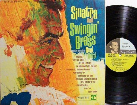 Sinatra, Frank - Sinatra & Swingin' Brass - Vinyl LP Record - Pop