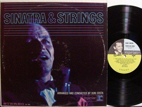 Sinatra, Frank - Sinatra And Strings - Vinyl LP Record - Pop