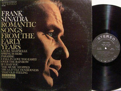 Sinatra, Frank - Romantic Songs From The Early Years - Vinyl LP Record - Pop