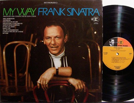 Sinatra, Frank - My Way - Vinyl LP Record - Pop
