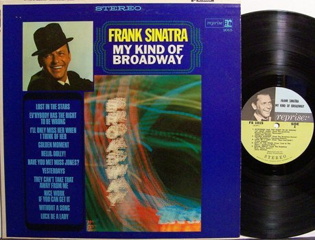 Sinatra, Frank - My Kind Of Broadway - Stereo - Vinyl LP Record - Pop