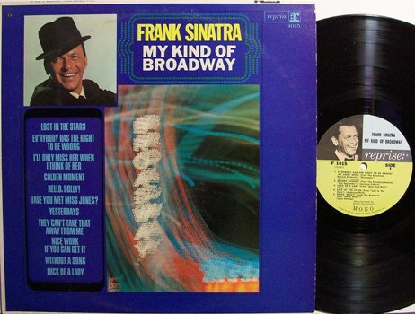 Sinatra, Frank - My Kind Of Broadway - Mono - Vinyl LP Record - Pop