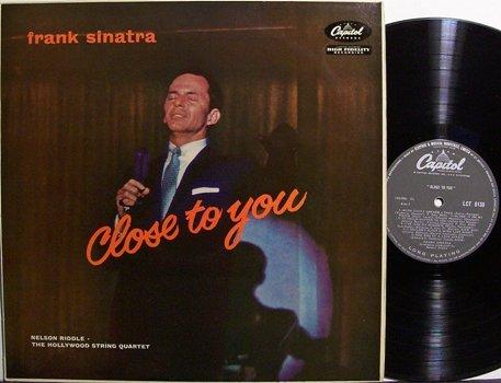 Sinatra, Frank - Close To You - UK Pressing - Vinyl LP Record - Pop