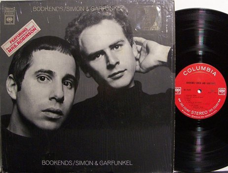 Simon & Garfunkel - Bookends - Vinyl LP Record + Poster - Rock