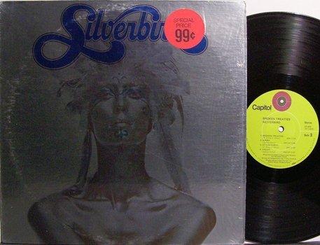 Silverbird - Broken Treaties - Vinyl LP Record - Rock