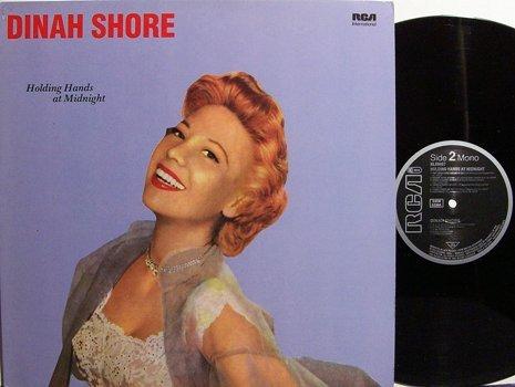 Shore, Dinah - Holding Hands At Midnight - West Germany Pressing - Vinyl LP Record - Pop