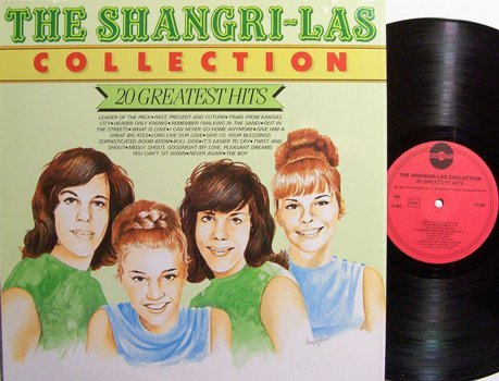 Shangri-Las, The - 20 Greatest Hits Collection - Holland Pressing - Vinyl LP Record - Pop Rock