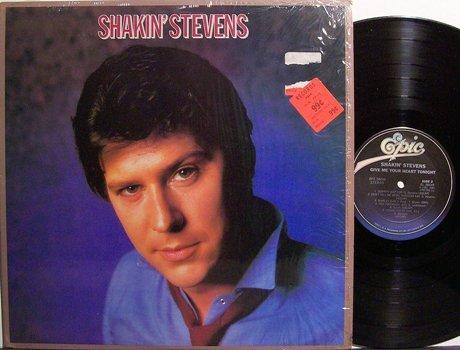 Shakin' Stevens - Give Me Your Heart Tonight - Vinyl LP Record - Rock