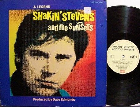 Shakin' Stevens - A Legend - UK Pressing - Vinyl LP Record - Rock