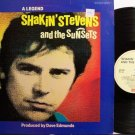 Shakin' Stevens - A Legend - UK Pressing - Vinyl LP Record - Rock
