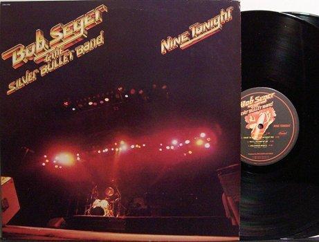 Seger, Bob - Nine Tonight / Live In Concert - Vinyl 2 LP Record Set - Rock