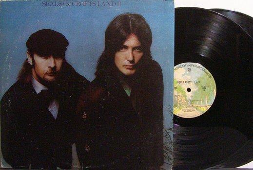 Seals & Crofts - I and II - Vinyl 2 LP Record Set - Rock