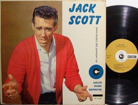 Scott, Jack - Self Titled - Vinyl LP Record - Rockabilly Rock