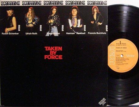 Scorpions, The - Taken By Force - German Pressing - Vinyl LP Record - Rock