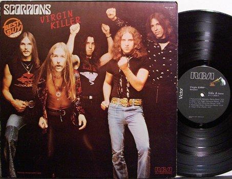 Scorpions, The - Virgin Killer - Vinyl LP Record - Rock
