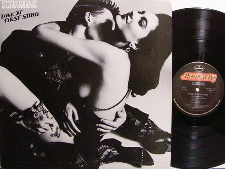 Scorpions, The - Love At First Sting - Vinyl LP Record - Rock
