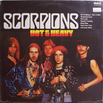 Scorpions, The - Hot & Heavy - German Pressing - Sealed Vinyl LP Record - Rock