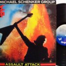 Schenker, Michael Group - Assault Attack - Vinyl LP Record - MSG / UFO - Rock