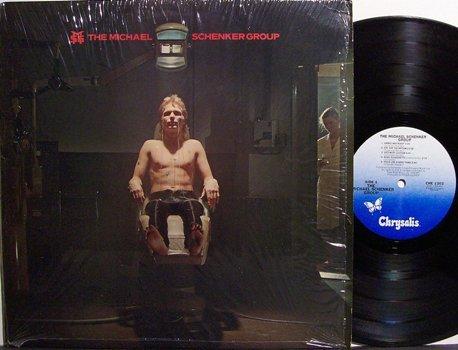 Schenker, Michael Group - Self Titled - Vinyl LP Record - MSG / UFO - Rock
