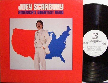 Scarbury, Joey - America's Greatest Hero - White Label Promo - Vinyl LP Record - Rock