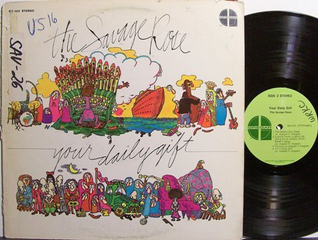 Savage Rose, The - Your Daily Gift - Vinyl LP Record - Rock