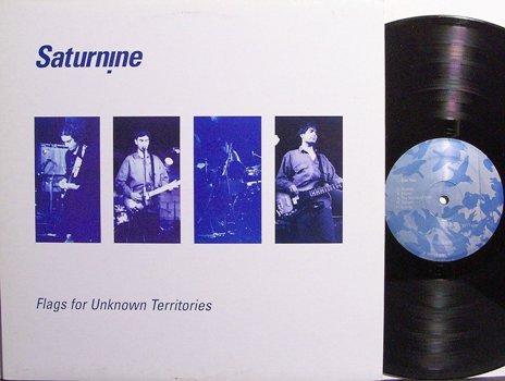 Saturnine - Flags For Unknown Territories - Vinyl LP Record - Rock