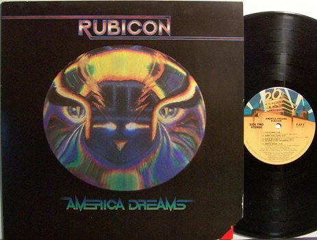 Rubicon - American Dreams - Vinyl LP Record - Rock