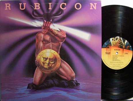 Rubicon - Self Titled - Vinyl LP Record - Rock