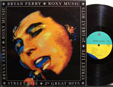 Roxy Music / Bryan Ferry - Street Life 20 Greatest Hits - Vinyl 2 LP Record Set - Rock