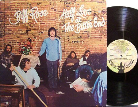 Rose, Biff - Half Live At The Bitter End - Vinyl LP Record - Rock
