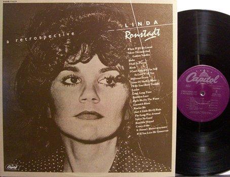 Ronstadt, Linda - A Retrospective - Vinyl 2 LP Record Set - Rock