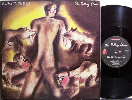 """Rolling Stones, The - One Hit To The Body / Fight - Vinyl 12"""" Single Record - Rock"""