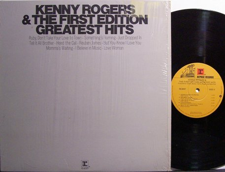 Rogers, Kenny & The First Edition - Greatest Hits - Vinyl LP Record - Rock