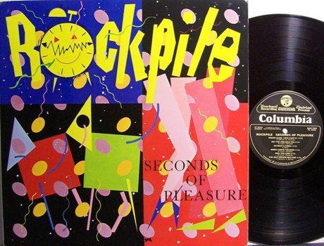 Rockpile - Seconds Of Pleasure - Dave Edmunds / Nick Lowe - Vinyl LP Record - Rock