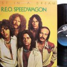 REO Speedwagon - Lost In A Dream - Vinyl LP Record - Rock