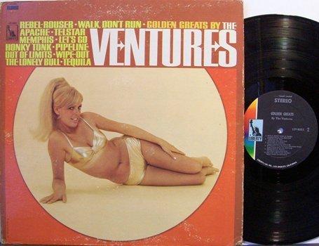 Ventures, The - Golden Greats By The Ventures - Vinyl LP Record - Rock