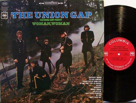 Union Gap, The Featuring Gary Puckett - Woman Woman - Vinyl LP Record - Rock