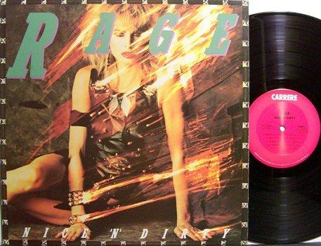 Rage - Nice 'N' Dirty - Vinyl LP Record - Rock