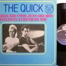 "Quick, The - Sharks Are Cool / Killed In A Crush On You - Vinyl 12"" Single Record - Rock"