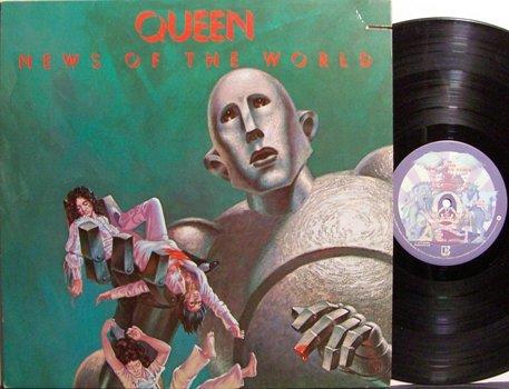 Queen - News Of The World - Vinyl LP Record - Rock