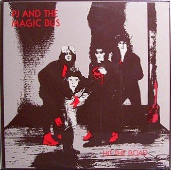 PJ & The Magic Bus - Hit The Road - Sealed Vinyl LP Record - Rock