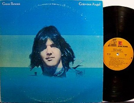 Parsons, Gram - Grevious Angel - Vinyl LP Record - Emmylou Harris - Country Rock